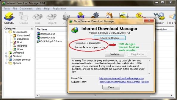 cara mengatasi IDM yang meminta serial number | kumpulan ...